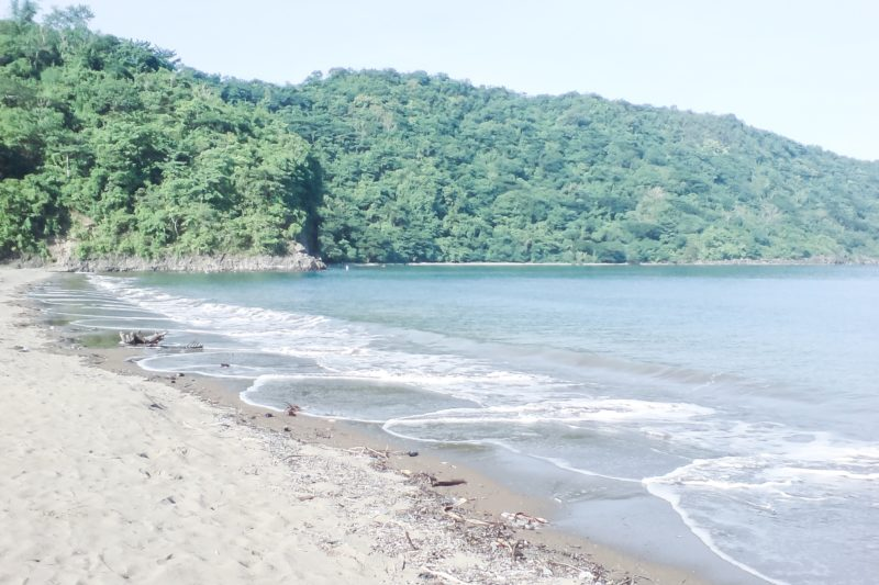 Shores of Calayo beach