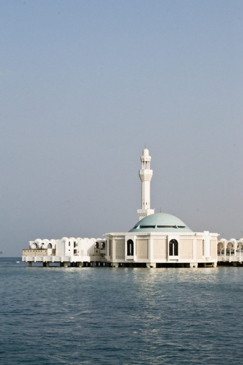 Jeddah Floating Mosque (Al Rahman Mosque) by Noel Cabacungan