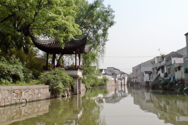 tiger hill suzhou water village