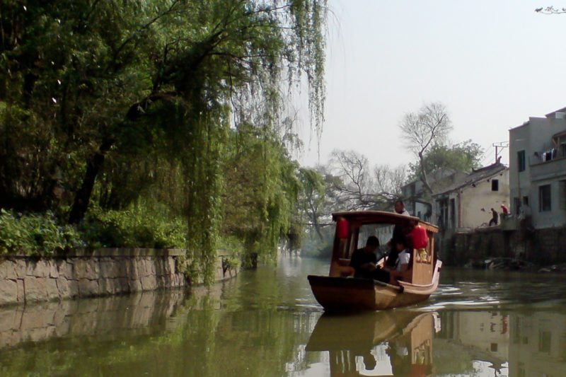 tiger hill suzhou boat ride