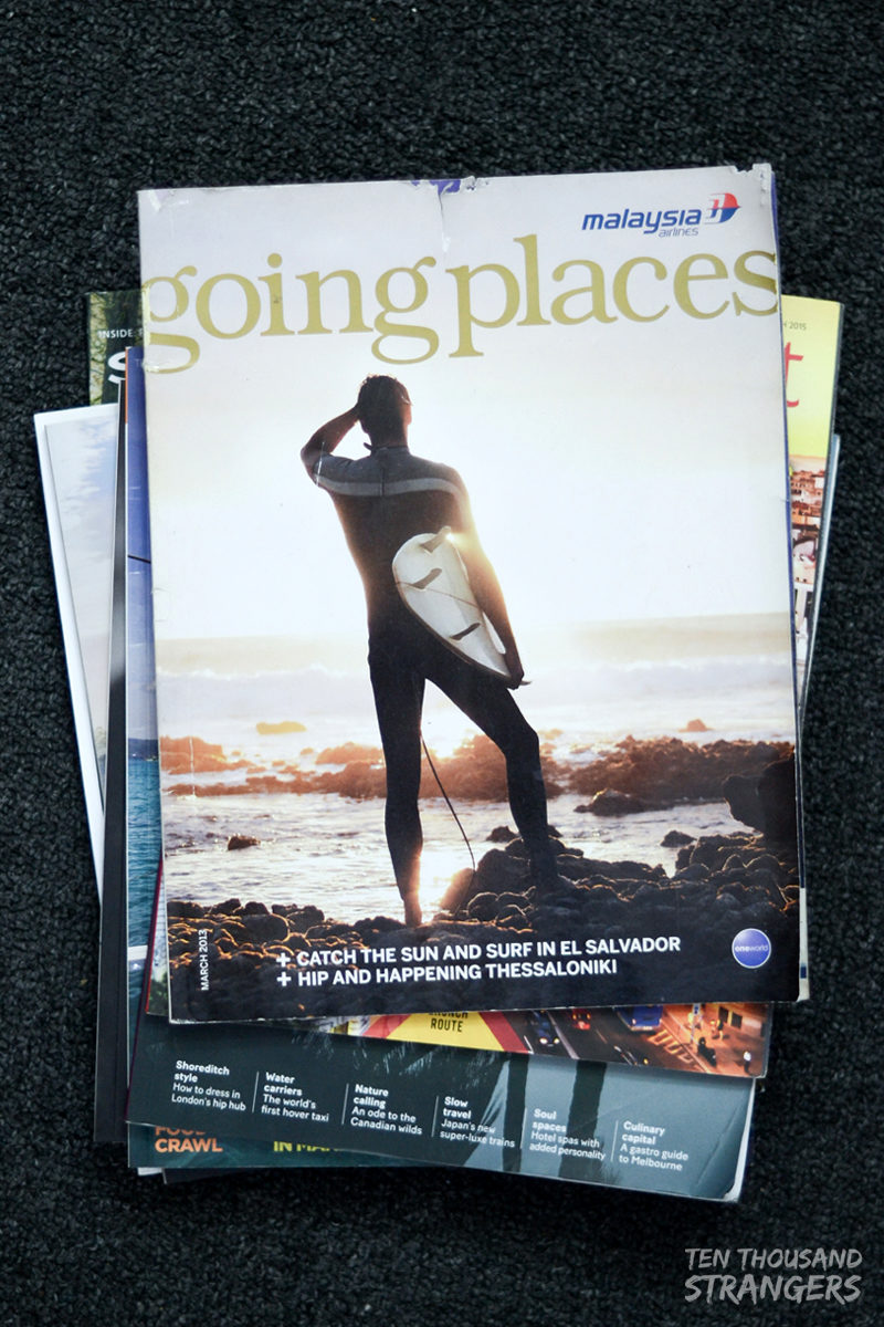 Going Places, Malaysia Airlines' inflight magazine