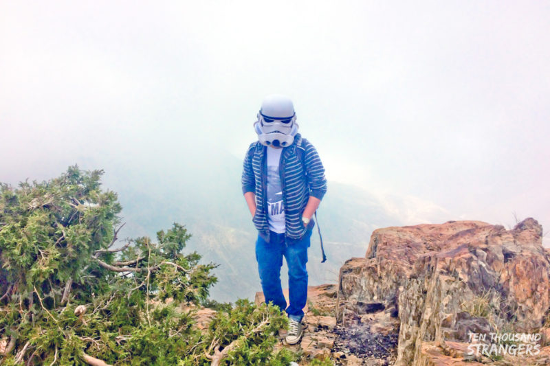 Trooper Travels Jabal Sawda