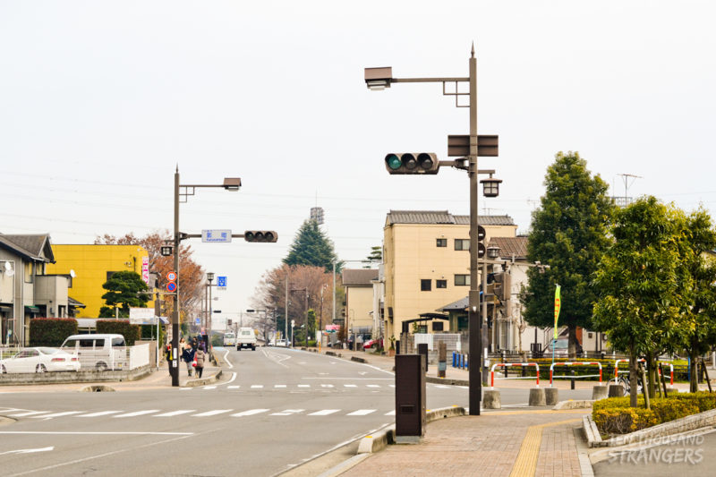 Kuruwamachi Intersection near the Kawagoe Castle Ruins