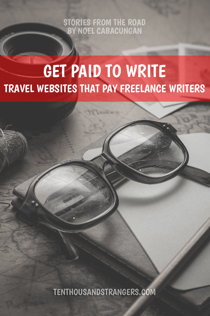 Get paid to write travel stories