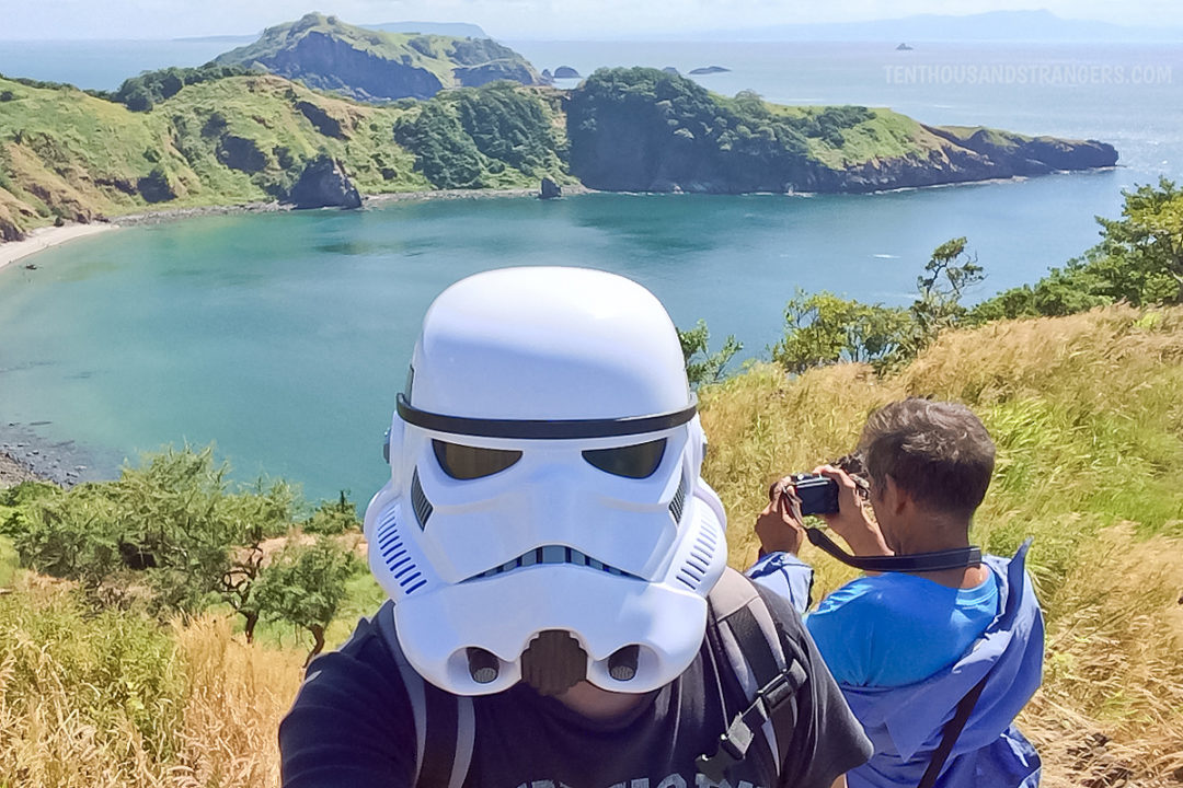 Stormtrooper in Apatol Cove, Mariveles Five Fingers
