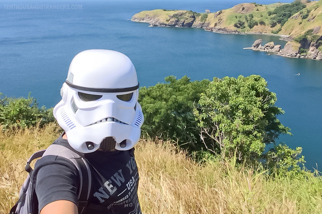 Stormtrooper in Nagbayog Cove, Mariveles Five Fingers
