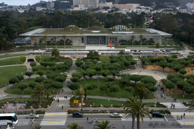 The California Academy of Sciences, Golden Gate Park