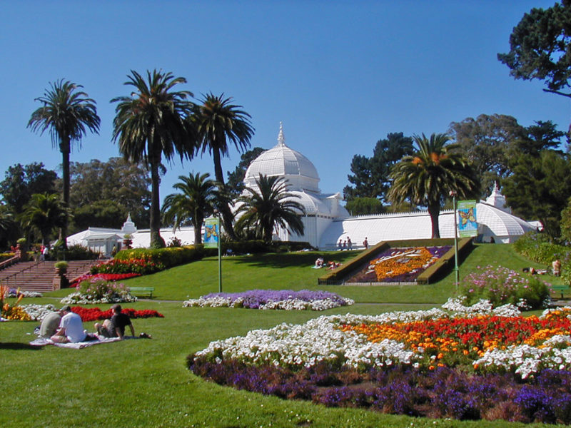 San Francisco Conservatory of Flower, Golden Gate Park