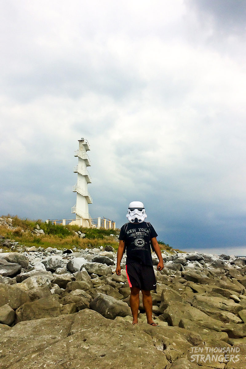 Stormtrooper at San Miguel Lighthouse, Mariveles, Bataan