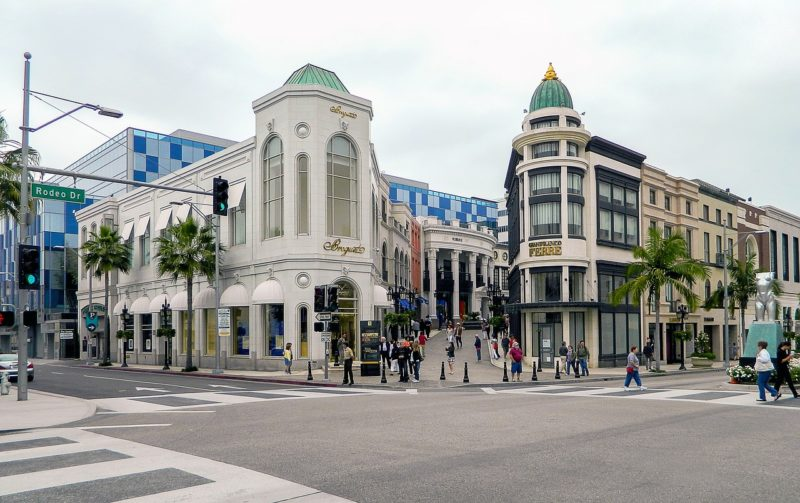 Rodeo Drive, Los Angeles, California