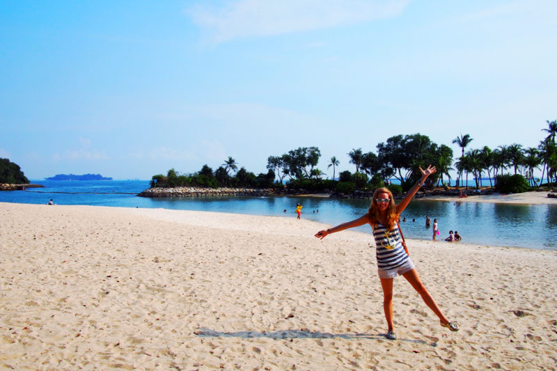 Palawan Beach - Free Singapore Attractions